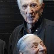 Reportage photographique Pierre et Colette Soulages lors du vernissage d'ouverture du Musée Soulages à Rodez - 30 Mai 2014 (C) Reportage photographique Philippe Cadu
